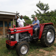New Tractor For The Ministry