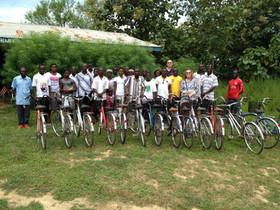 Leaders Receive New Bikes