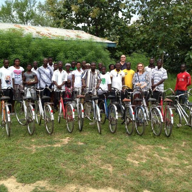 Leaders Receive Bikes