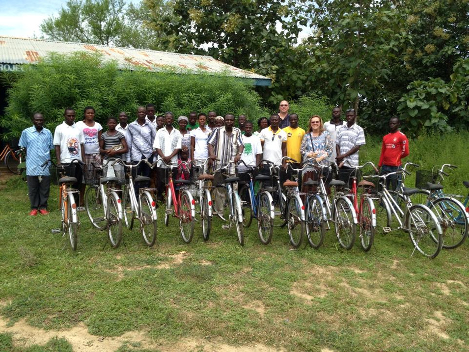 Leaders Receive New Bikes