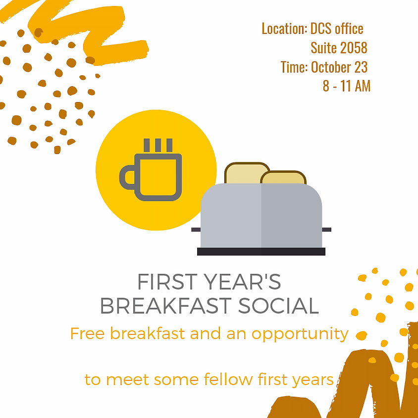 First Year Breakfast Social