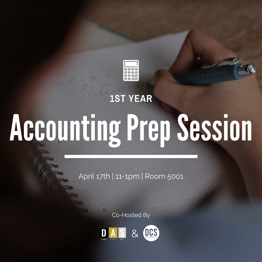 1st Year Accounting Review Session