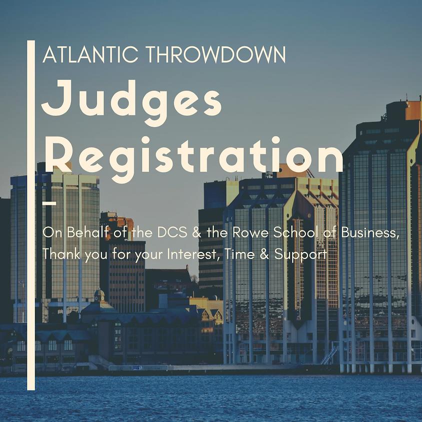 Atlantic Throwdown Judge Registration Form