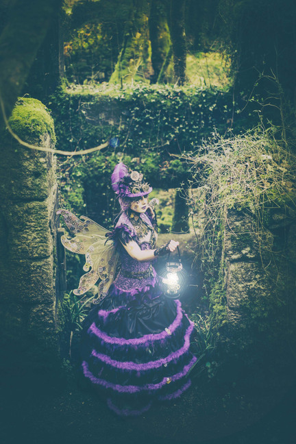 'Steampunk' Fantasy Lash Art by Cindy Nicholls