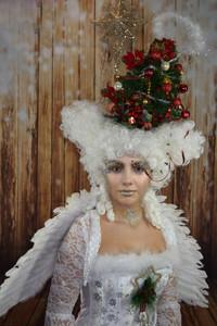 'Christmas' Fantasy Lash Art by Cindy Nicholls.