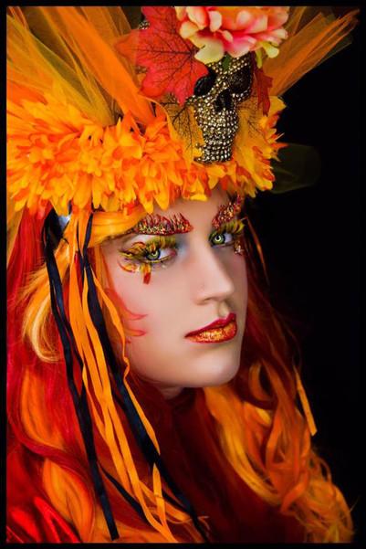 'Summer' Fantasy Lash Art by Cindy Nicholls