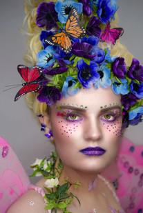 'Spring' Fantasy Lash Art by Cindy Nicholls.