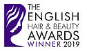 Winner English Hair and Beauty Awards 2019