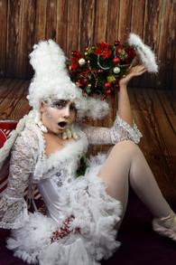 'Christmas' Fantasy Lash Art by Cindy Nicholls