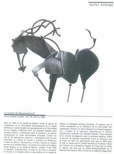 Sculpture Death of Netzahualcoyotl
