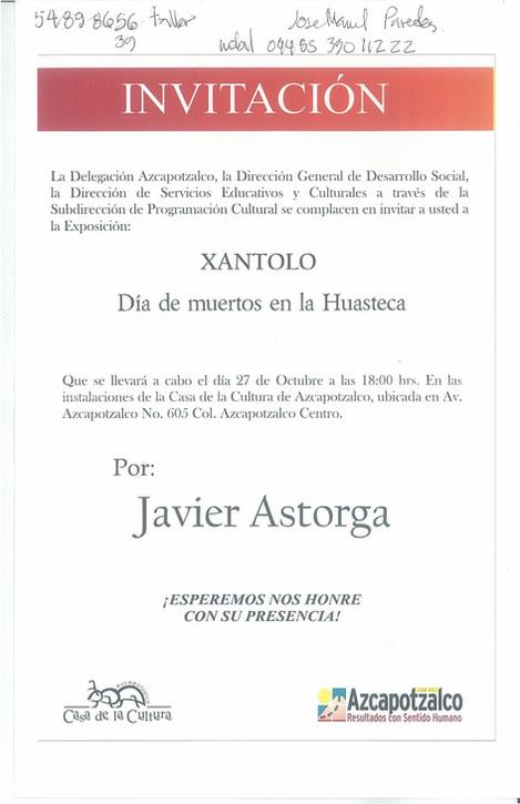 Exhibition Xantolo