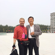 With the Governor of Changchun City