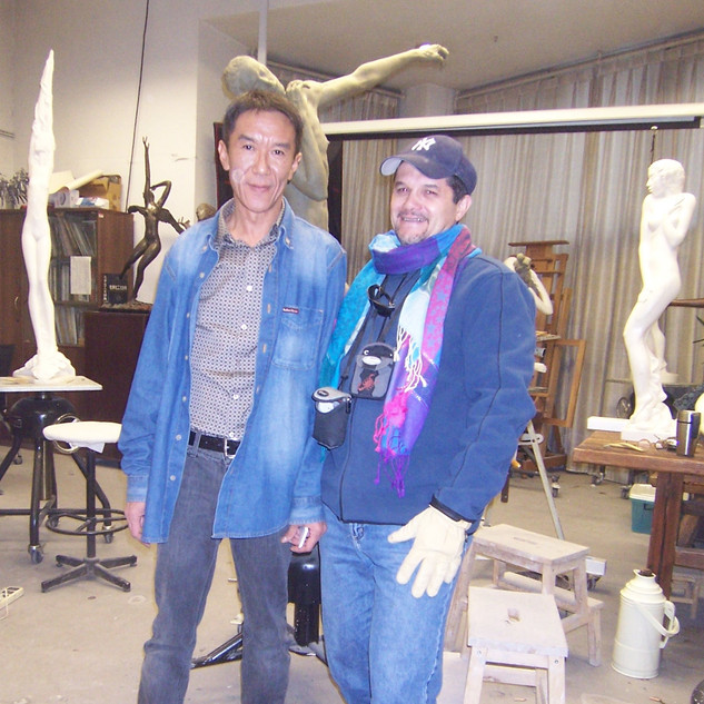 At the Studio of Professor Wei Xiaoming