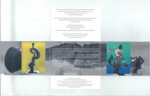 Exhibition at Hotel Camino Real. Sta. Fe