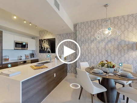 Buy or Rent-to-Own Designer Furnished One-Bedroom Model Unit at Merrick Manor in Coral Gables