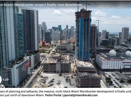 Take a peek inside construction at Miami's biggest development project. Maybe ever.