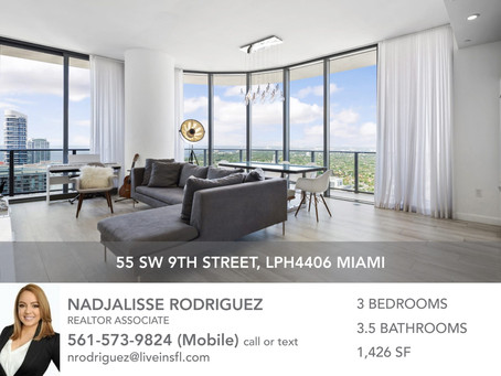 BEST-PRICED LPH IN BRICKELL HEIGHTS WEST // 3 BEDS, 3.5 BATHS // $970,000