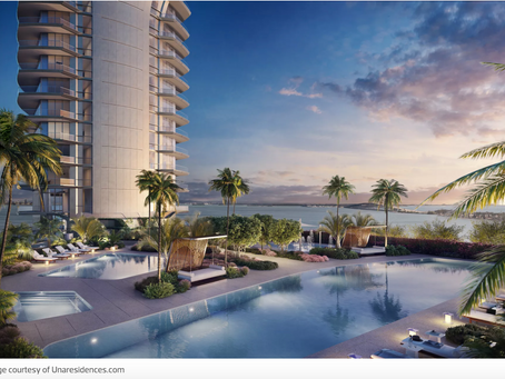 47-story Una condo tower will rise on Brickell Waterfront