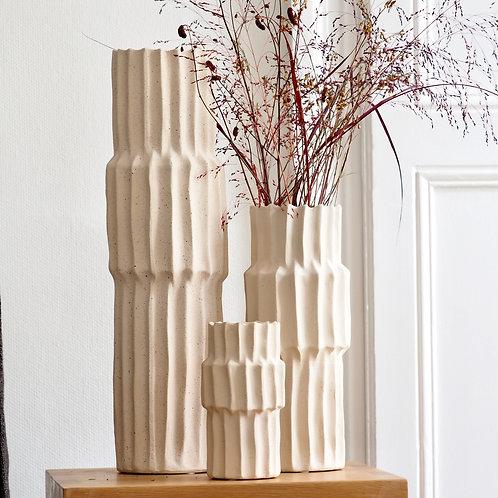 vase-nano-nordal-blanc-grès-3tailles-et-fleurs-séchées