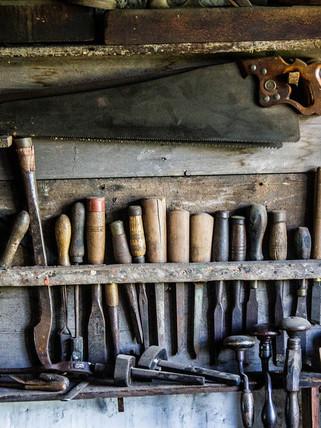 Outils traditionnels à bois
