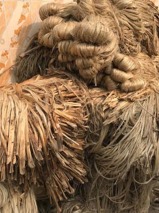 Echevaux de fibres végétales 1