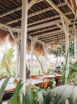 Habitation traditionnelle en bambou