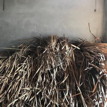Balots de fibres végétales