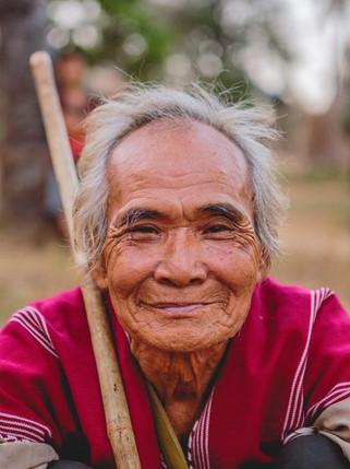 Portrait de vieil homme