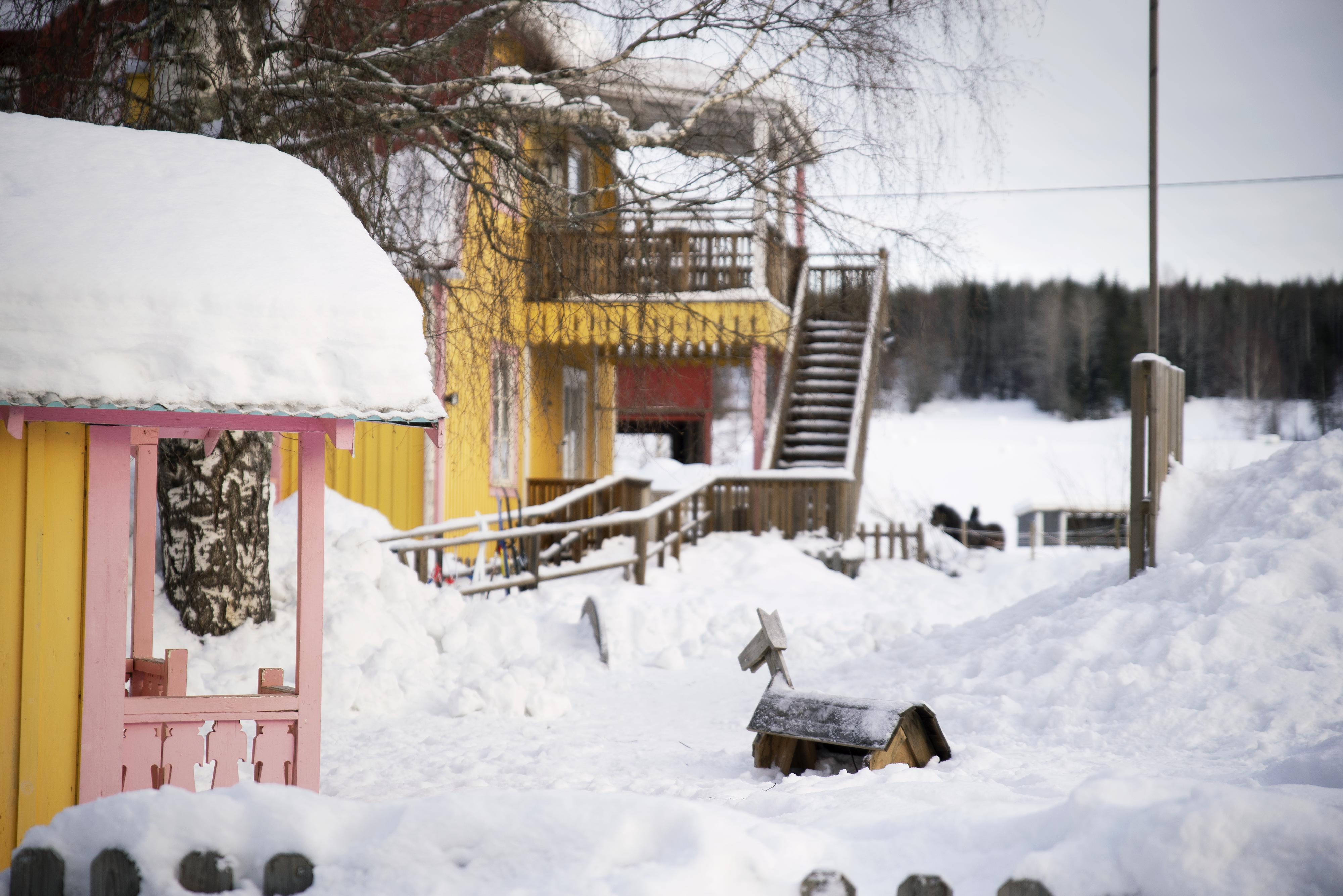 förskola vinter