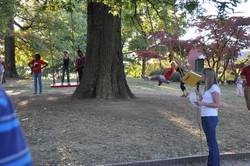 Emily Dunlap_Sculpture on Campus Walk