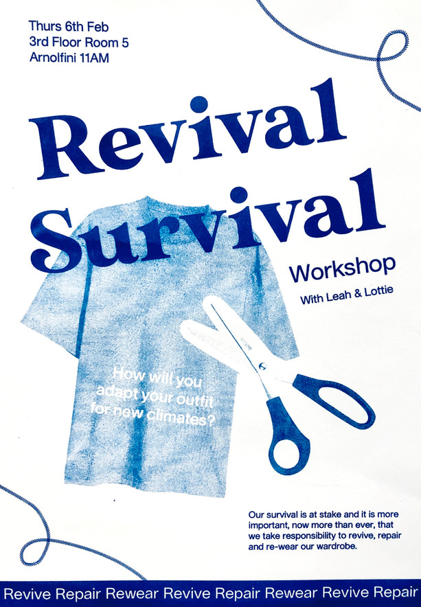Revival Survival Workshop Poster