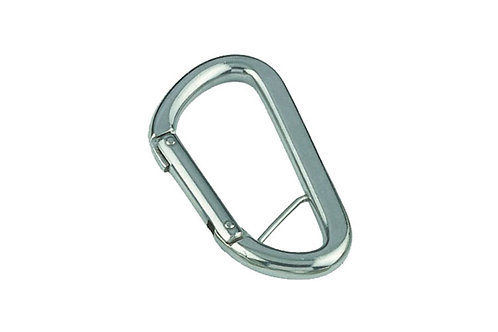 Davis, Carabiner , SS316 ,captive-10mm (3/8) stock by 10