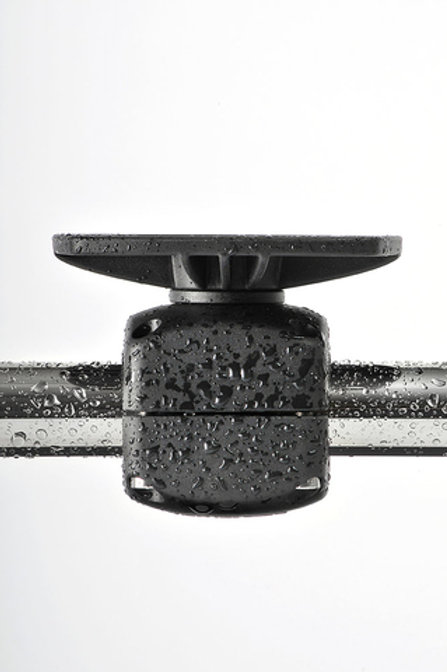 Fixed rail mount -rail clamp