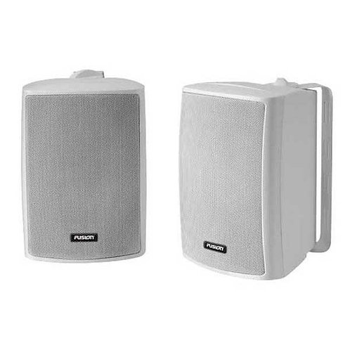 Fusion MS-OS420 100 Watt Marine / Outdoor Box Speakers 4''