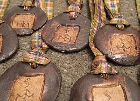 Stoneware Pottery Pendant