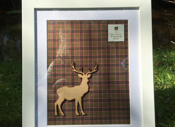 Silhouette Wall Art - Stag