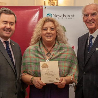 Kate Collison - Winner Outstanding Contribution to the New Forest National Park