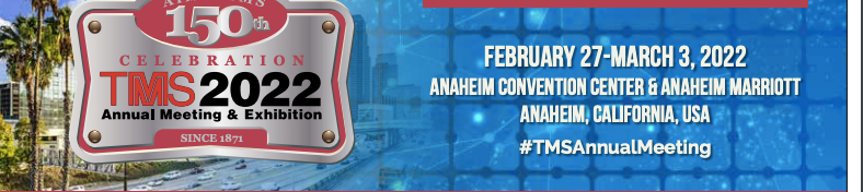 Brian is leading a session on materials in sport at Anaheim TMS Conference (2022)