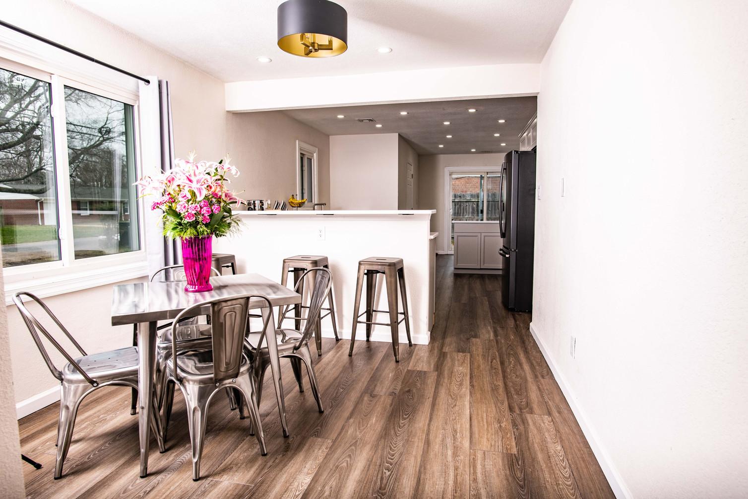 Entire house interior renovation.