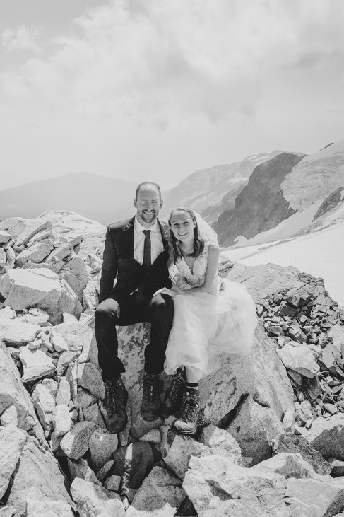 Whistler Wedding | Kyle Graham Photography | Blackcomb Helicopters