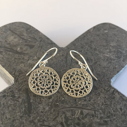 Circle Cutout Earrings