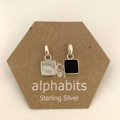 Reversable Square earrings