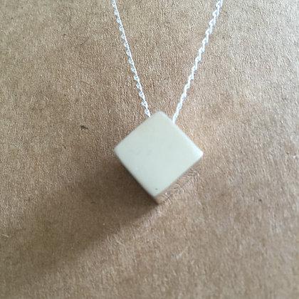 Diamond shape necklace