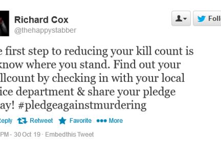 Serial Killer Advises Public to Pledge to Kill Less Often to Reduce Homicide Rates