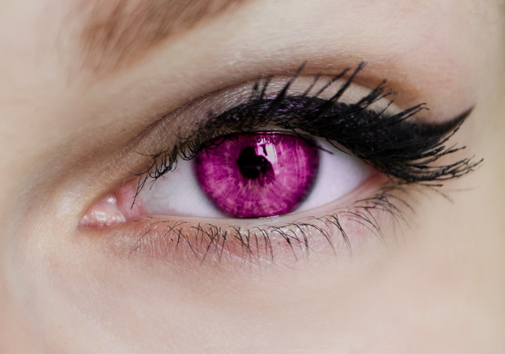 Closeup of a Psionic woman's eye