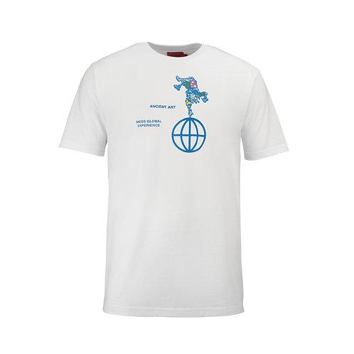 T-SHIRT CIRCO GLOBAL BRANCO