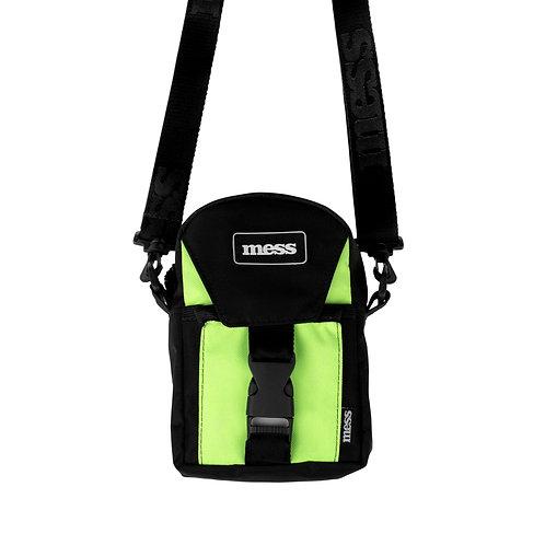 SHOULDER BAG PREMIUM BLACK GREEN