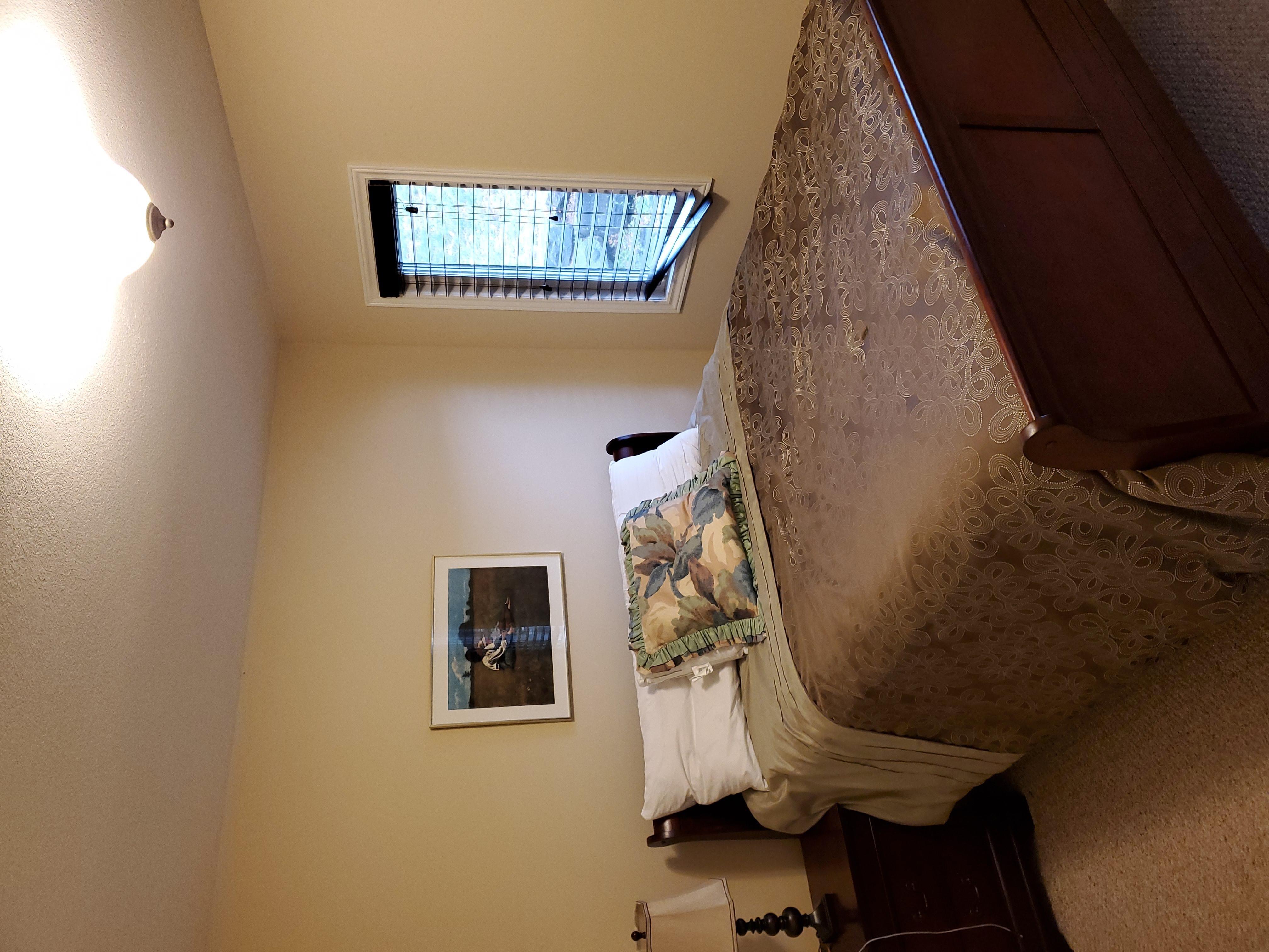 upstairs guest bedroom