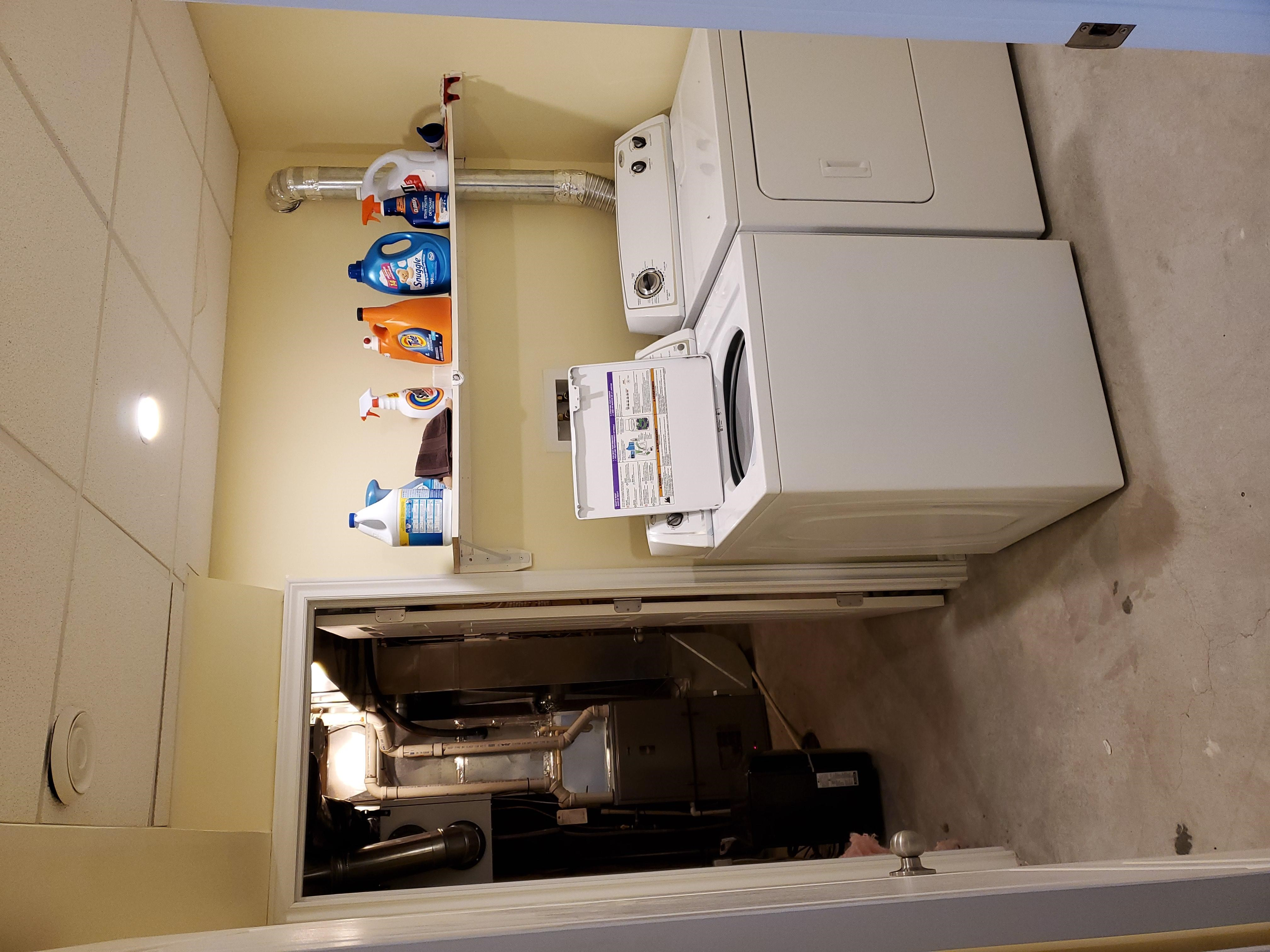 washer dryer Laundry Room