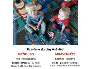 Hlídání dětí s programem od září 2021 - volná místa